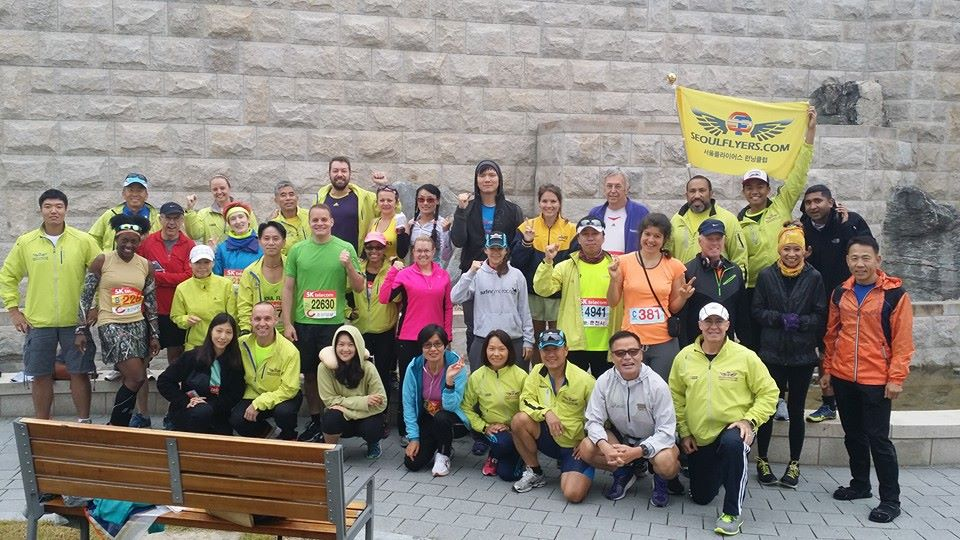Group picture before the Marathon